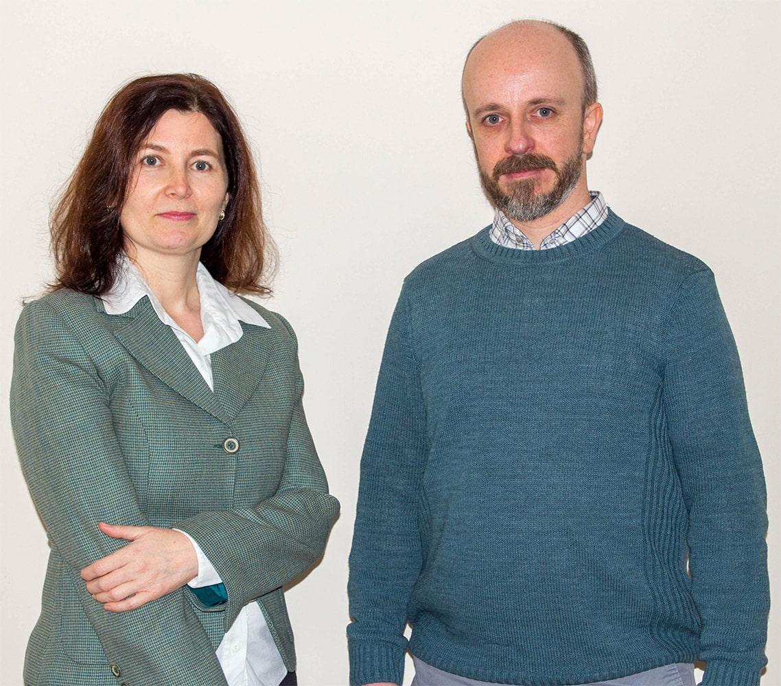 Таня Георгиева и Ричард Гибсънс